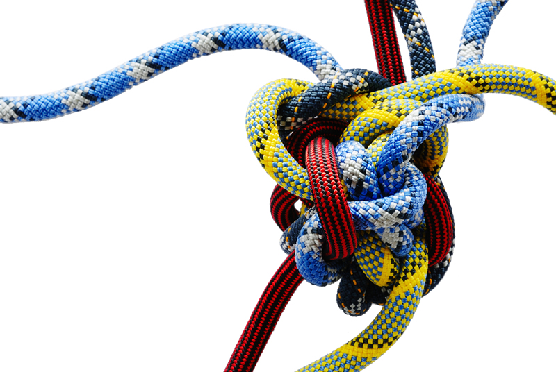 Switch Thinking - Complex Problem Solving - untying the knot